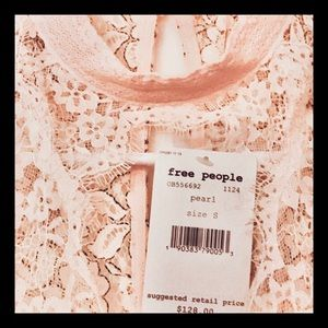 Free People Tops - NWT Free People Lace Tunic Top Dress Small